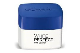 L'OREAL PARIS White Perfect Day Cream SPF17 PA++ Whitening + Even Tone 50ml - Myanmar Online Shopping
