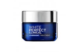 L'OREAL PARIS WHITE PERFECT CLINICAL OVER NIGHT TREATMENT 50ML - Myanmar Online Shopping