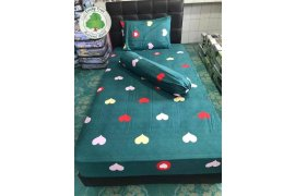 Lucky Tree Bed Sheets Cover Set - Myanmar Online Shopping